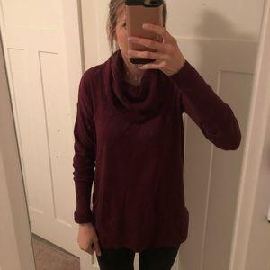 NWT Ann Taylor LOFT Cowl Neck Sweater